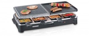 The Severin Raclette Party Grill - more space and more versatility. Click to buy on Amazon and read reviews
